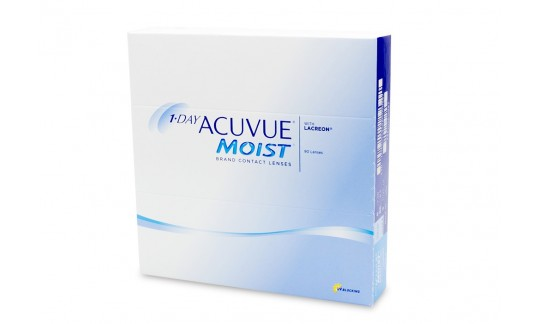 1 Day Acuvue Moist (90 Pack)