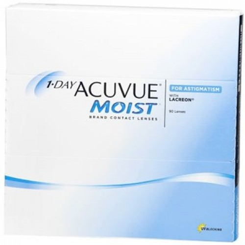 Image of 1-Day ACUVUE Moist for Astigmatism (90 Pack)