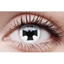Black Cross - Crazy Lens non-prescription (2 pack)