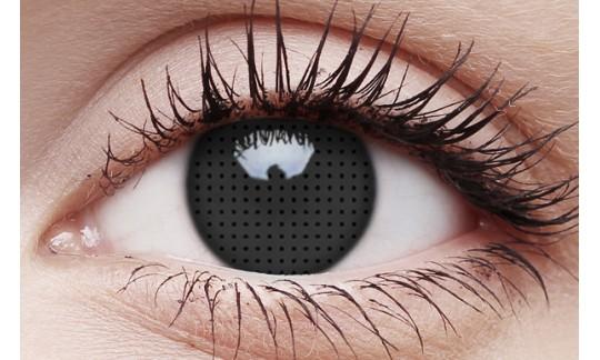 Black Screen - Crazy Lens non-prescription (2 pack)