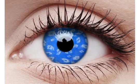 Blue Leopard - Crazy Lens non-prescription (2 pack)