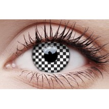 Chequered - Crazy Lens non-prescription (2 pack)