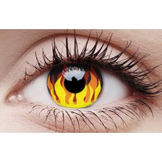 Flame Hot - Crazy Lens non-prescription (2 pack)