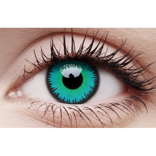 Image of Green Werewolf - Crazy Lens non-prescription (2 pack)