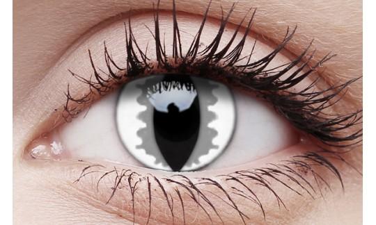 Grey Dragon- Crazy Lens non-prescription (2 pack)