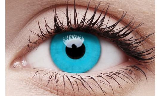 Sky Blue - Crazy Lens non-prescription (2 pack)