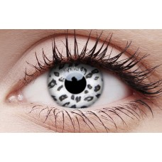 White Leopard - Crazy Lens non-prescription (2 pack)
