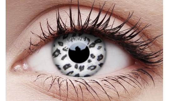 White Leopard - Crazy Lens non-prescription (2 pack)