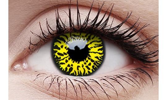 Yellow Eclipse - Crazy Lens non-prescription (2 pack)