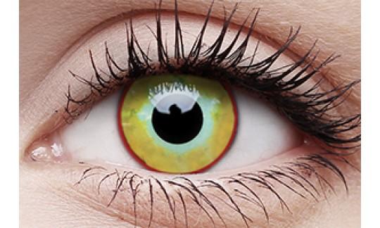 Yellow Plague - Crazy Lens non-prescription (2 pack)