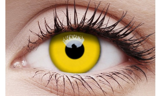 Yellow - Crazy Lens non-prescription (2 pack)