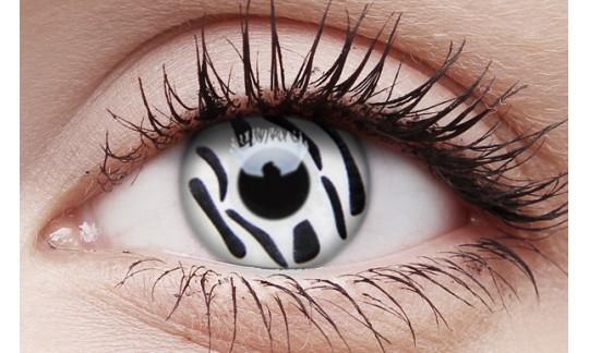 Zebra - Crazy Lens non-prescription (2 pack)