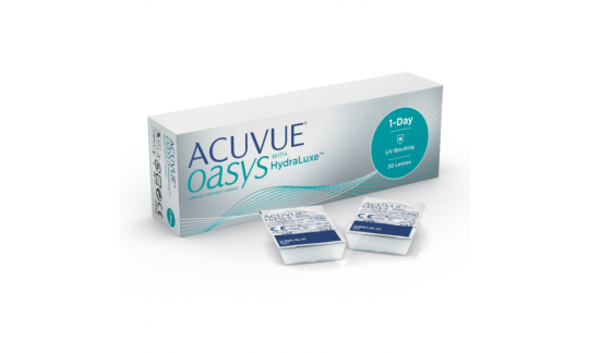 Acuvue Oasys 1 Day with HydraLuxe technology (30 Pack)