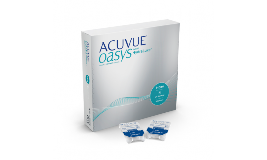 Acuvue Oasys 1 Day with HydraLuxe technology (90 Pack)