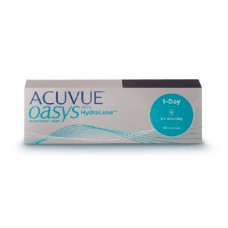 ACUVUE® OASYS 1-Day with HydraLuxe technology (30 Pack)