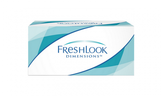 Freshlook Dimensions non-prescription (6 pack)