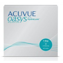 ACUVUE® OASYS 1-Day with HydraLuxe technology (90 Pack)