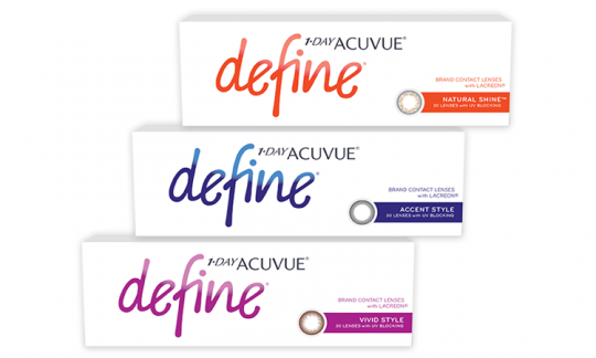 1 Day Acuvue Define non-prescription (30 Pack)