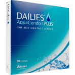 DAILIES AquaComfort Plus (90 pack)
