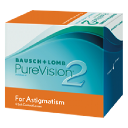 Image of PureVision 2 for Astigmatism (6 pack)