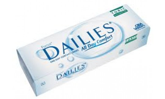 Focus DAILIES Toric All Day Comfort (30 pack)