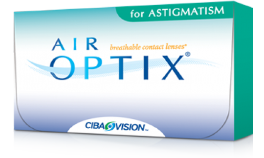 Air Optix Aqua for Astigmatism (3 Pack)