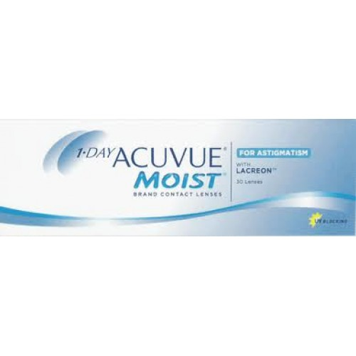 Image of 1-Day ACUVUE Moist for Astigmatism (30 Pack)