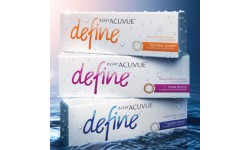 Acuvue 1-Day Define - new style and now with LACREON
